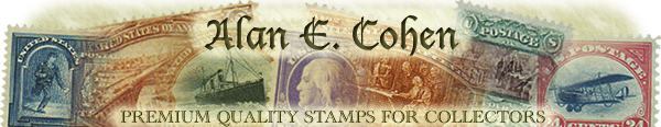 Alan E. Cohen; Premium Quality Stamps for Collectors